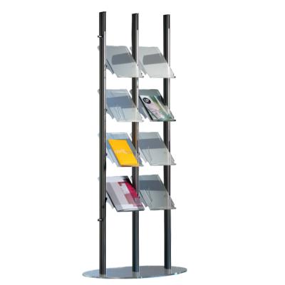 Folderrek Highline D3-4 t.b.v. 8x A4 staand