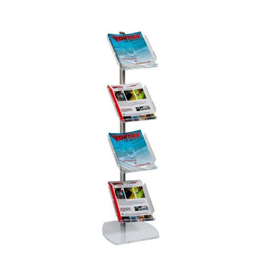 Folderdisplay incl. 4x A4-folderhouders