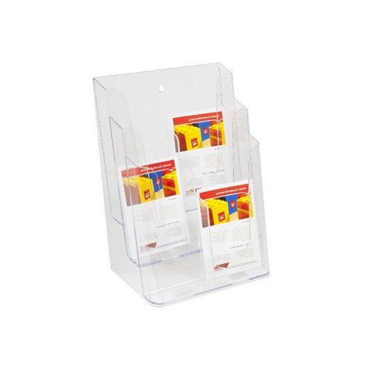 Folderhouder traps 6x 1/3 A4