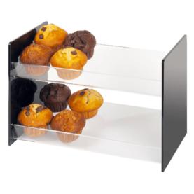 muffin cake display