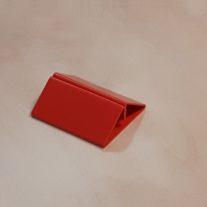 Kaarthouder clip rood