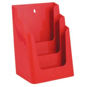 Folderhouder-traps-3x-A4-kleur