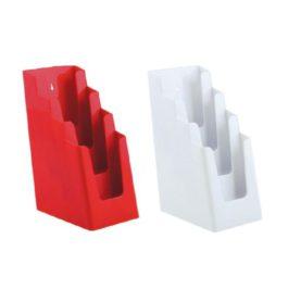 Folderhouder kleur traps 4x 1/3A4